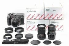 【Near Mint All Boxed】Mamiya 7 Body with 65mm 80mm 150mm 3 Lenses from Japan 416