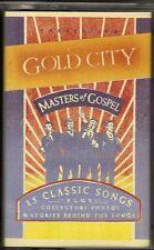 """GOLD CITY .......""""MASTERS OF GOSPEL"""".........RARE OOP HTF GOSPEL CASSETTE"""