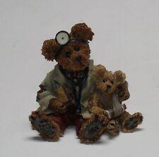 Vg+ 1998 Dr. Harrison Griz.Md, Phd, Bud Boyds Bears Bearstone Coll #228309