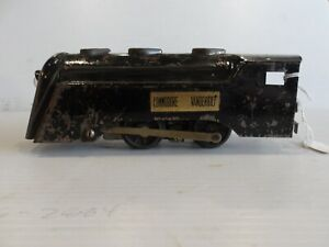 "VINTAGE MARX COMMODORE VANDERBILT LOCOMOTIVE O-SCALE ""AS IS"" (F59)"