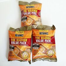 New listing Lot Of 21 Pairs - HotHands Toe Warmers (3 packs of 7) New Exp 05/2021