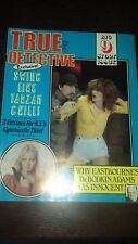true detective magazine april 1984 good condition for age