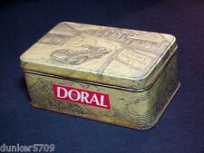1996 Doral Tabaccoville Collectible Tin And Factory Sealed Match Box - Usa