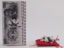 Maneki Neko - Gatto Bianco in ceramica Portaincenso - Portafortuna Giapponese