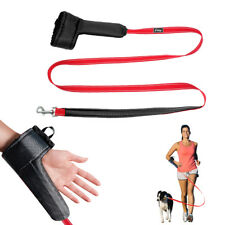 Hands Free Dog Leash with Wrist Strap Reflective Pet Leads for Walking Running