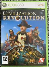 Xbox 360 Game - Sid Meier's Civilisation Revolution - PAL VGC Free UK PP
