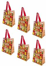 Earthwise Reusable Grocery Bags Shopping - Totes Extra Large ( Pack of 6 )