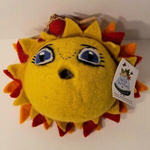WILD WOOLIES Sunshine Hand Crafted Felt Birdhouse