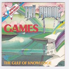 45 TOURS SP TAI PHONG GAMES en 1976 WARNER BROS 16748 avec Jean-Jacques GOLDMAN