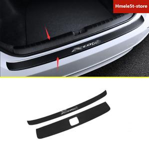 For Honda Accord 2018-2019 Carbon Fiber Rear Bumper Guard Sill Protector Sticker