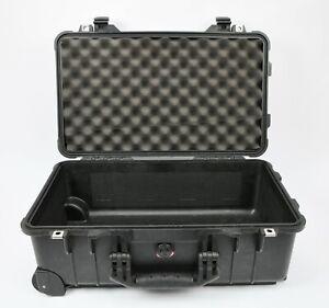 Pelican 1510 Carry-On Case with 1 Piece Foam (Black)