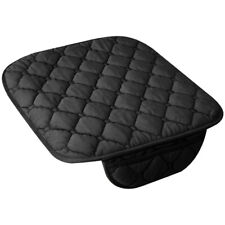 Black Universal Car Seat Cover Soft Warm Breathable Mat for Auto Chair Cushion