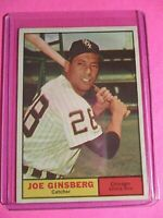 1961 Topps Set Break # 79 Joe Ginsberg White Sox NrMt+ SHARP! Well Centered