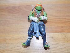 TMNT Teenage Mutant Ninja Turtles Michelangelo Action Figure Orange Mask 2014