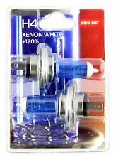 Sho-Me H4 Hi/Lo - 2 x BOMBILLA 60W 12V 4300K +120% LUZ BLANCA EFECTO XENON WHITE