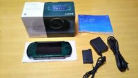 Used SONY PSP 3000 Playstation Portable Spirited Green Console PSP-3000 JAPAN