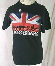 The Rolling Stones Abiggerbang O2 Arena 07 T-Shirt Free Banksy Anarchy Rat Pin