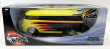 Hot Wheels 1/18 Scale Diecast - 29227 Customized VW Drag Bus Black Yellow