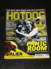 HOTDOG magazine 2002, Jodie Foster, Kristen Stewart, David Fincher, Panic Room