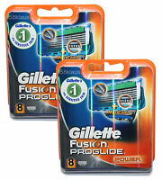 16 Gillette Fusion ProGlide Power Rasierklingen / 2x 8er in OVP 16er Set