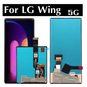 OEM For LG Wing 5G F100N F100VM LCD Touch Screen Display Digitizer Replace Parts
