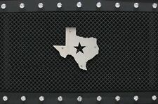 Stainless Steel Grill Badge fits Ford Raptor F150 Jeep Tundra Tacoma Truck TEXAS