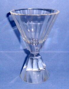 VINTAGE QUALITY CUT GLASS COCKTAIL GLASS