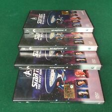 (4 DVD) STAR TREK THE NEXT GENERATION n.4-5-6-7 (2005) De Agostini Sped.GRATIS !