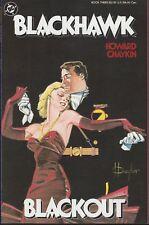 BLACKHAWK  #3 1988 DC GN/TPB -IRON DREAMS & BLOODY MURDER-by HOWARD CHAYKIN..NM-