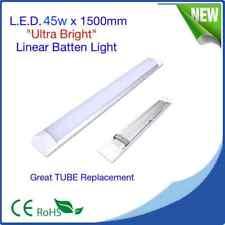 "LED Linear Batten Lights  ""NO MORE TUBES"" (Pack 20) 45w x 1500mm High Brightness"