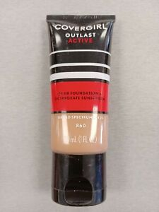 Covergirl Outlast Active 24 Hr Foundation SPF 20 No 860 Classic Tan