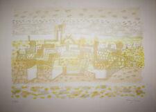 Eduard Bargheer : handsignierte + nummerierte  LITHOGRAFIE 2 ,  AFRIKA  , 55/120