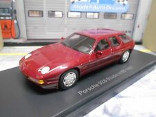 PORSCHE 928 V8 H50 H 50 Studie Prototyp 1987 rot red Limousine BoS Resin 1:43