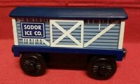 Thomas & Friends Wooden Railway Sodor Ice Co. Plastic Train Car 2004 EUC