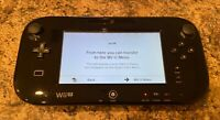 Nintendo Wii u console Gamepad only with 2 games [Read]