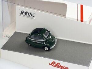 """BMW ISETTA 1957 """"Landspolizei"""" Green - 1/87 - SCHUCO"""