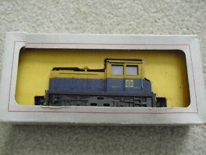 Vintage ATT HO Scale Santa Fe Plymouth Locomotive in Box