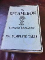 The Decameron Camden Publishing 1920
