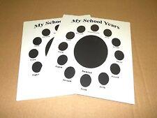 My School Year photo Album Mat Ready For Frame 11 X 14 (Cr Framing) Black
