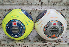 Neu 2 x Adidas Matchball Torfabrik 2013/14 Football Ballon Soccer Pallone no Box