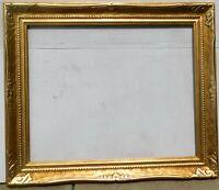 Vintage carved gold leaf frame fits 24 x 30 painting