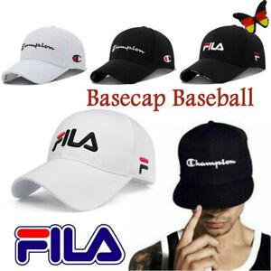 FILA Schirmmütze Basecap Baseball Mütze Golf Hut Sonnenschutz Hüte Sport Caps