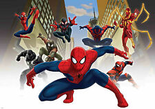 Wallpaper wall mural Spider-man Marvel superheroe large size for boy's bedroom