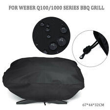 BBQ Grill Abdeckung Abdeckhaube Cover für Weber 7110 Q100/1000 Serie Wasserdicht