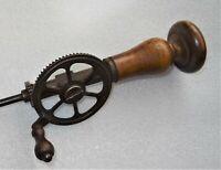 grande drille mécanique 19ème - outil ancien