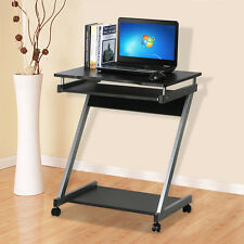 Corner Computer Desk Small Es On Castors Pc Table Bedroom Home Office Study