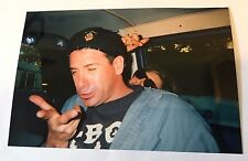 Vintage 90s PHOTO Man Taking Picture After Having Too Much Alcohol  To Drink