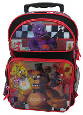 "Five Nights at Freddy's 16"" Large School Roller Backpack Rolling Bag"