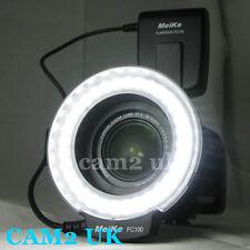 Meike FC100 LED Macro Ring Flash Light for Nikon D700 D3X D800 D600 D5200 D3200