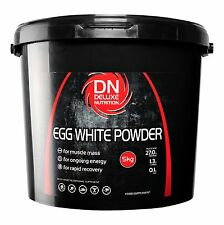 Egg White Protein Powder 5kg Unflavoured Muscle Gain 82% By Deluxe Nutrition